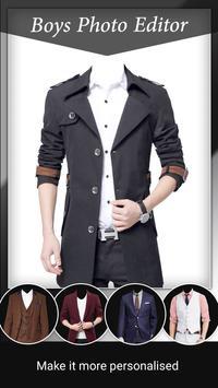 Men Photo Suit Editor poster