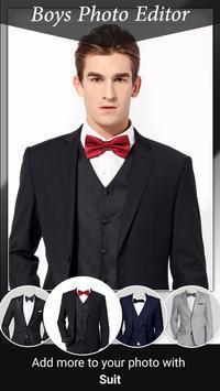 Men Photo Suit Editor screenshot 1