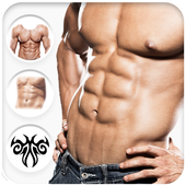 Six Pack Abs Photo Editor For Boys, Girls & Kids icon