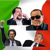 300+ stickers of Italian politicians for Whatsapp icon