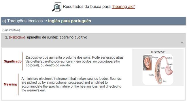 Dicionário Técnico Inglês-Português screenshot 1