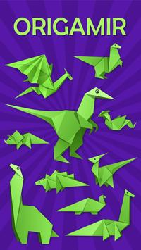 Origami Dinosaurs poster