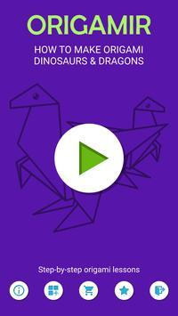 Origami Dinosaurs screenshot 1