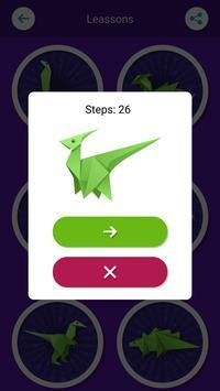 Origami Dinosaurs screenshot 4