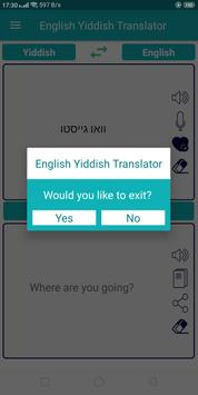 English Yiddish Translator screenshot 9