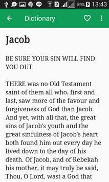 Bible Characters Dictionary screenshot 2