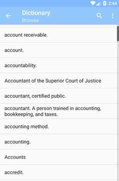 Offline Law Dictionary screenshot 5