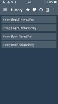 English Tamil Dictionary screenshot 7