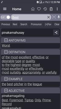 English Filipino Dictionary poster