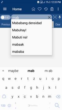 English Filipino Dictionary screenshot 3