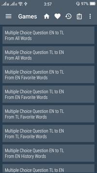 English Filipino Dictionary screenshot 5