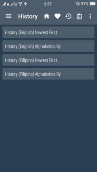 English Filipino Dictionary screenshot 7