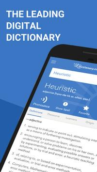 Dictionary.com: Find Definitions for English Words poster