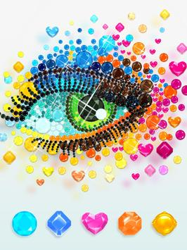 Diamond art - Diamond coloring & Easy  Relaxing screenshot 13