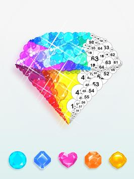 Diamond art - Diamond coloring & Easy  Relaxing screenshot 9