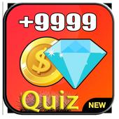 Diamonds Free Fire Quiz and Tricks icon