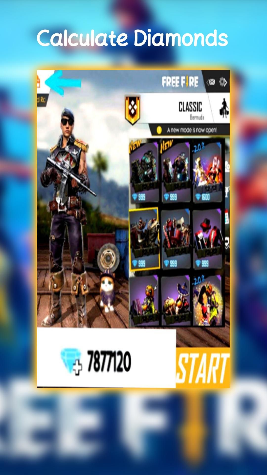 Free Diamonds For Garena Fire Max For Android Apk Download