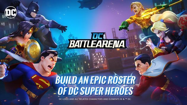 DC Battle Arena poster