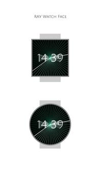 Ray Watch Face poster