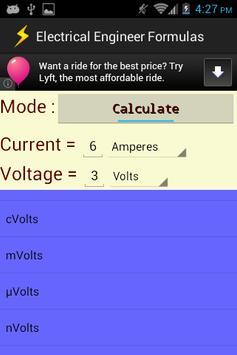 Electrical Engineer Formulas screenshot 4