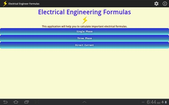 Electrical Engineer Formulas screenshot 6