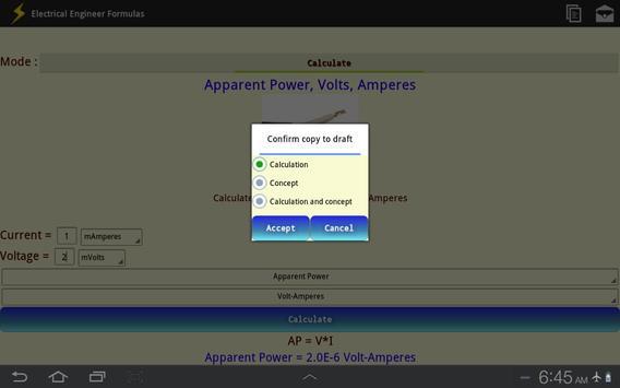 Electrical Engineer Formulas screenshot 7