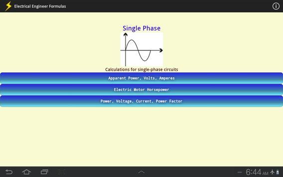 Electrical Engineer Formulas screenshot 9