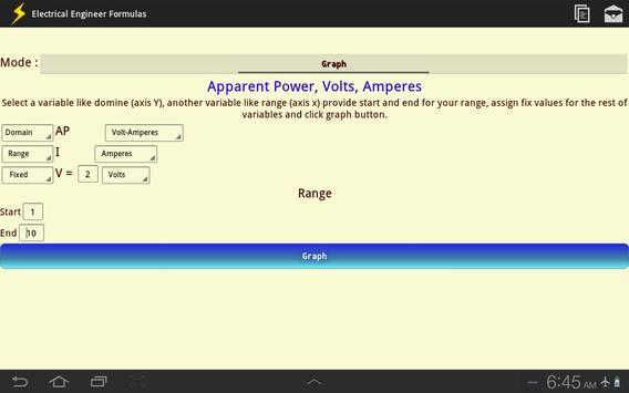 Electrical Engineer Formulas screenshot 13