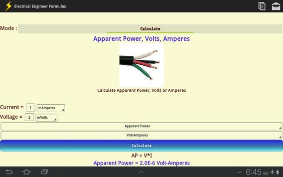 Electrical Engineer Formulas screenshot 11