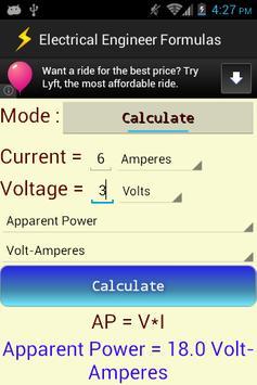 Electrical Engineer Formulas screenshot 2