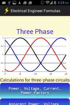 Electrical Engineer Formulas screenshot 3