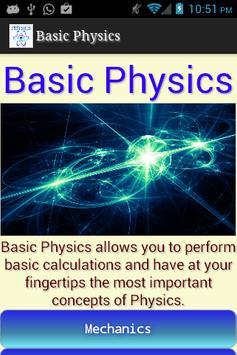 Basic Physics poster