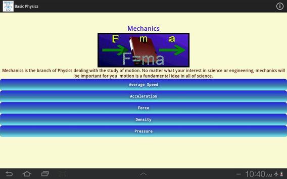 Basic Physics screenshot 11