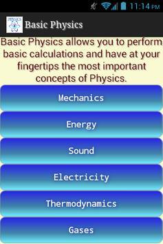 Basic Physics screenshot 1