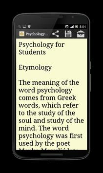 Psychology for Students screenshot 6