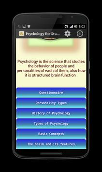 Psychology for Students screenshot 1