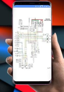 cable diagram poster