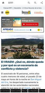 Periódicos Peruanos syot layar 1