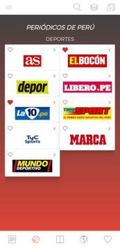 Periódicos Peruanos syot layar 2
