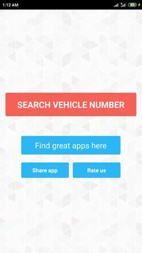 Vehicle registration details screenshot 1