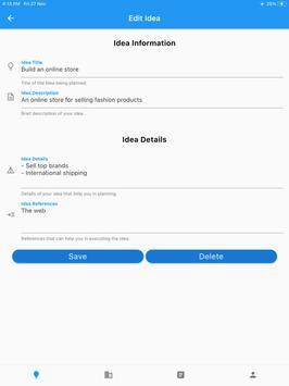 Startup Business Ideas – Generate, Plan & Execute Screenshot 17