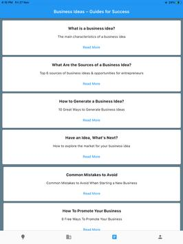 Startup Business Ideas – Generate, Plan & Execute Screenshot 20