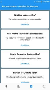 Startup Business Ideas – Generate, Plan & Execute Screenshot 4