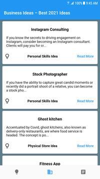 Startup Business Ideas – Generate, Plan & Execute Screenshot 5