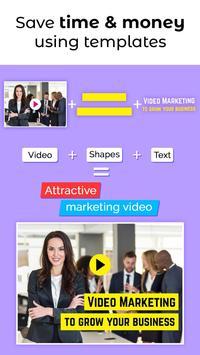 Video Brochure Maker - Video Marketing Templates poster