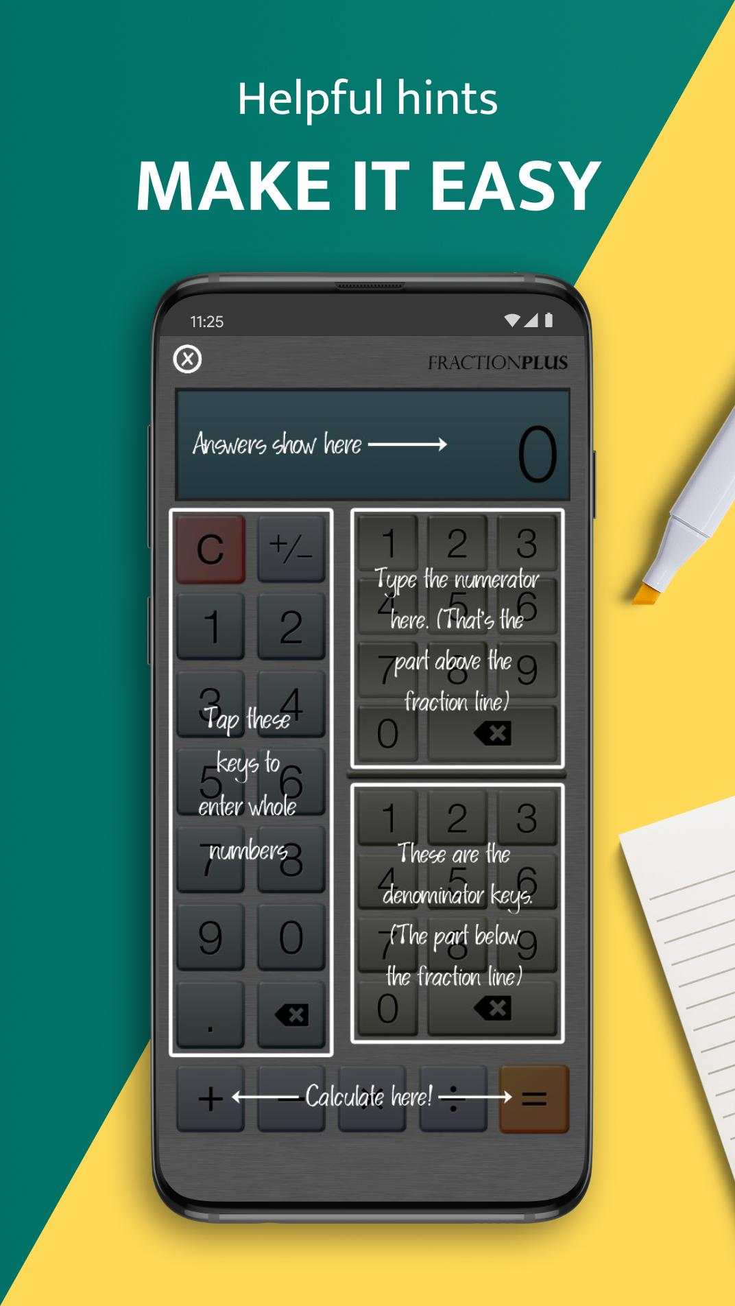 Fraction Calculator Plus for Android - APK Download