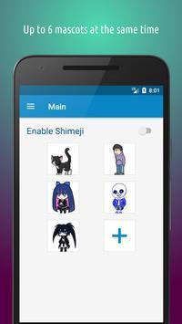 Shimeji screenshot 1