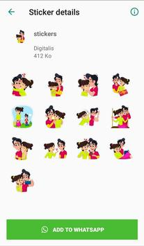 Love stickers for couples - WAStickerApps screenshot 3