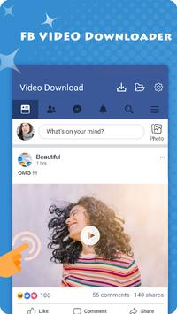 Video Story Saver for Facebook - Image and Video poster