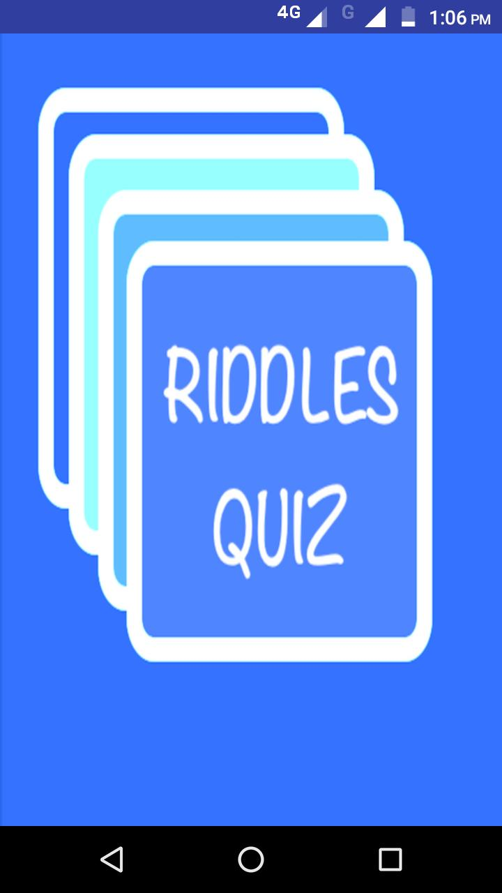 500+ Tricky Riddles Quiz Collection 2019 for Android - APK